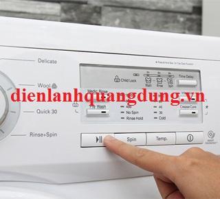 Chế độ kích hoạt độ an toàn trẻ em ở máy giặt electrolux